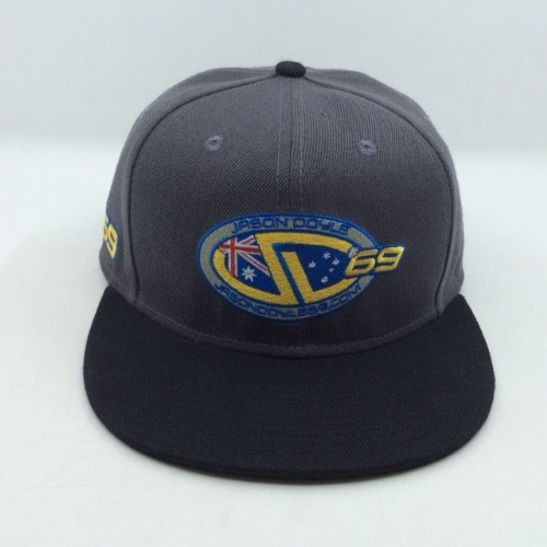 JD 69 Snap-back Cap GREY & BLACK